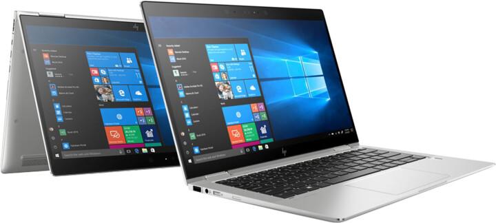 HP EliteBook x360 1030 G3 Touch, stříbrná