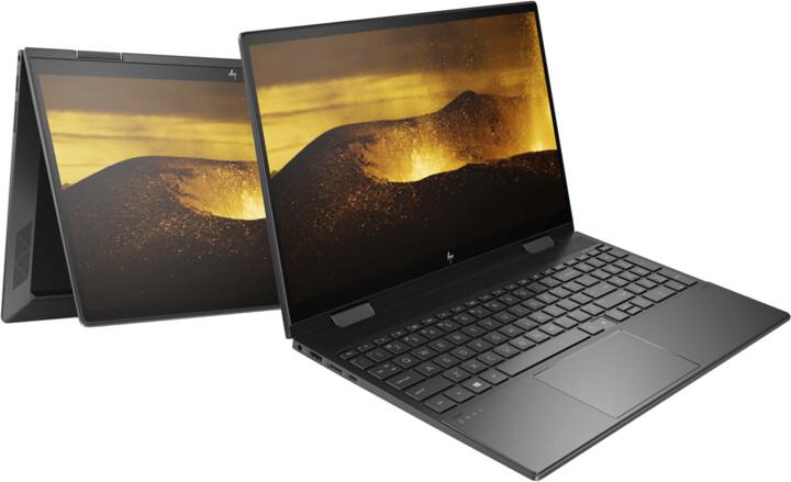 HP ENVY x360 15-ee0001nc, černá + ON Site záruka