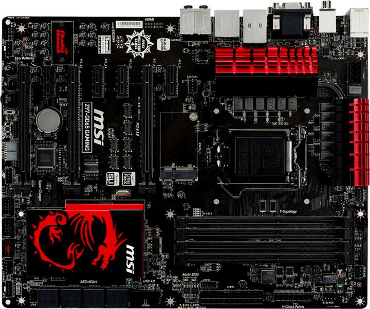 MSI Z97-GD65 GAMING - Intel Z97
