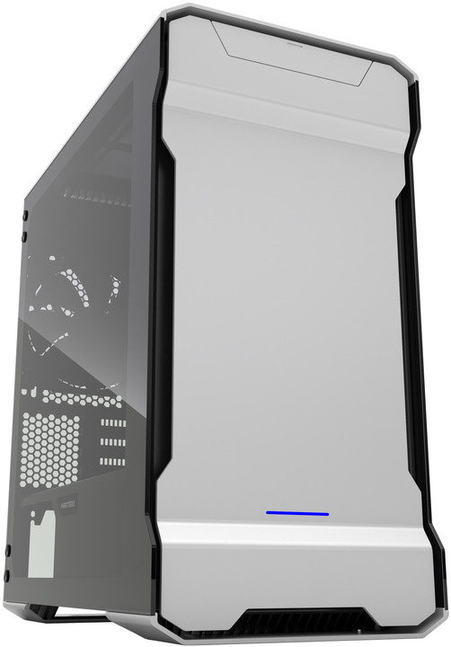 PHANTEKS Enthoo Evolv mATX, Tempered Glass, stříbrná