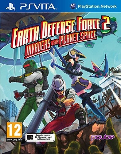 Earth Defense Force 2: Invaders from Planet Space (PS Vita)