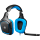 Logitech G430, modrá  + Voucher až na 3 měsíce HBO GO jako dárek (max 1 ks na objednávku)