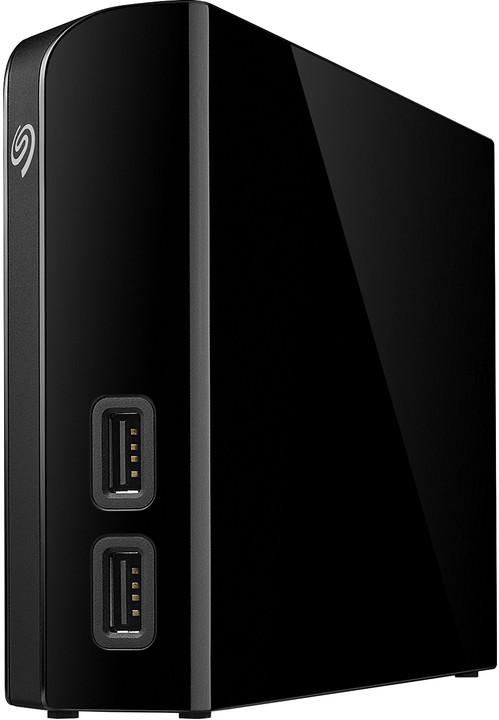 Seagate Backup Plus Hub - 8TB, černá