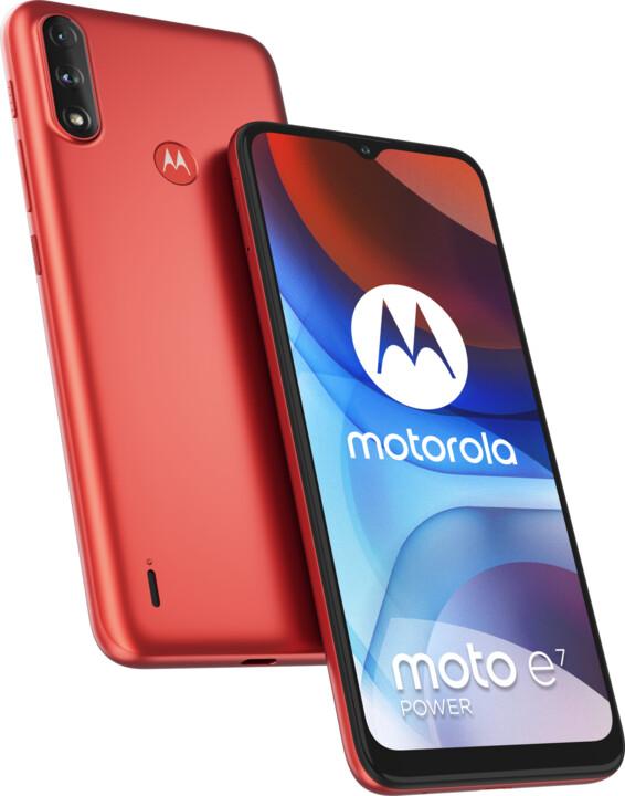 Motorola Moto E7 Power, 4GB/64GB, Oxy Red