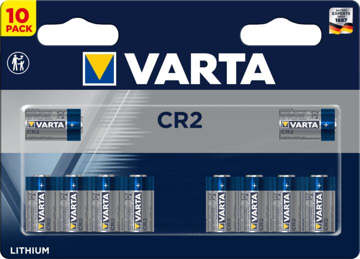 VARTA lithiová baterie CR2, 10 ks