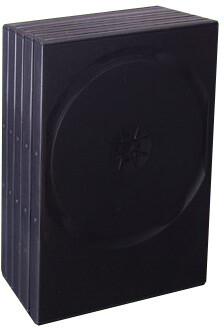 Box na 2 DVD černá, 14mm, 5ks