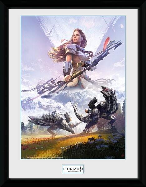 Zarámovaný plakát Horizon Zero Dawn - Complete Edition