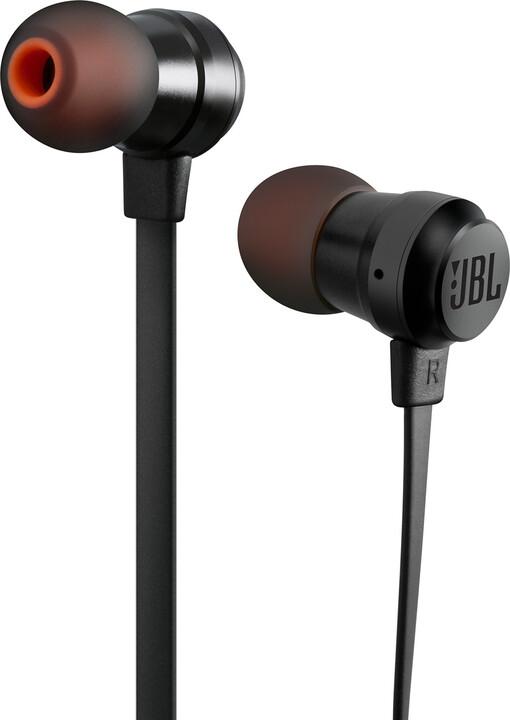JBL T280A, černá