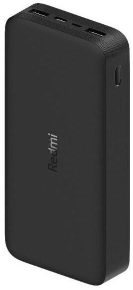 Xiaomi powerbanka Redmi 20 000mAh, 18W, Fast Charge, černá