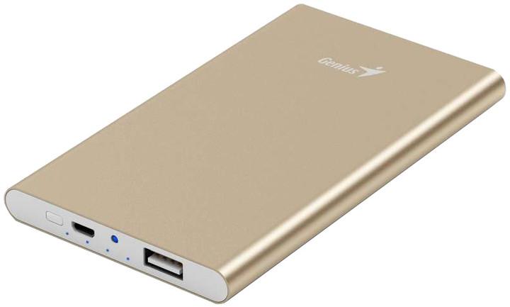 Genius powerbank ECO-u540, zlatá