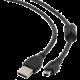 Gembird CABLEXPERT kabel USB A-MINI 5PM 2.0 1,8m HQ s ferritovým jádrem