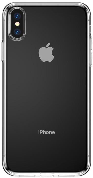 Baseus pouzdro Simple Series pro iPhone X/XS, transparentní