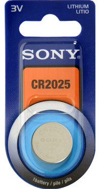 Sony Lithiová knoflíková baterie 3.0V / 160 mAh / průměr x výška 20 x 2.5 mm / 1 ks