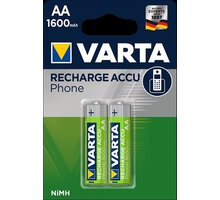 VARTA nabíjecí baterie Phone AA 1600 mAh, 2ks - 58399201402