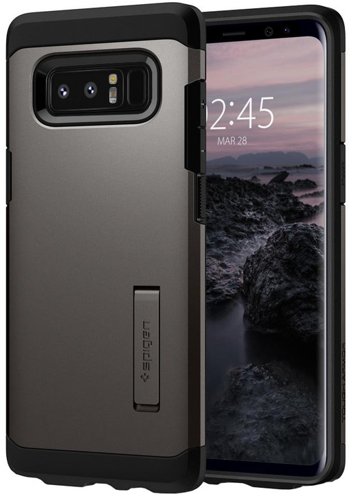 Spigen Tough Armor pro Galaxy Note 8, gunmetal