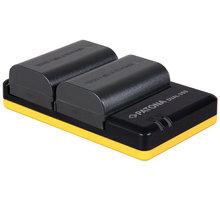 Patona nabíječka Foto Dual Quick Canon LP-E6 + 2x baterie 2040mAh USB PT1968B