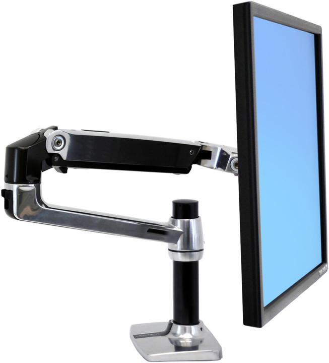"Ergotron LX Desk Mount Arm, Polished Aluminum, stolní rameno max 32"" LCD"