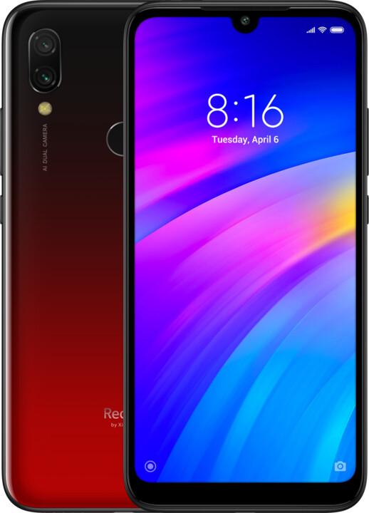 Xiaomi Redmi 7, 3GB/32GB, červená