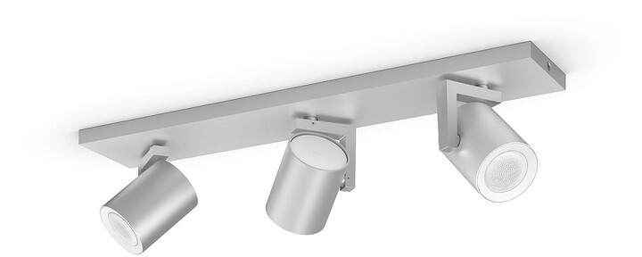 Philips svítidlo Hue Argenta GU10, 3x 5.7W, Bluetooth, hliník