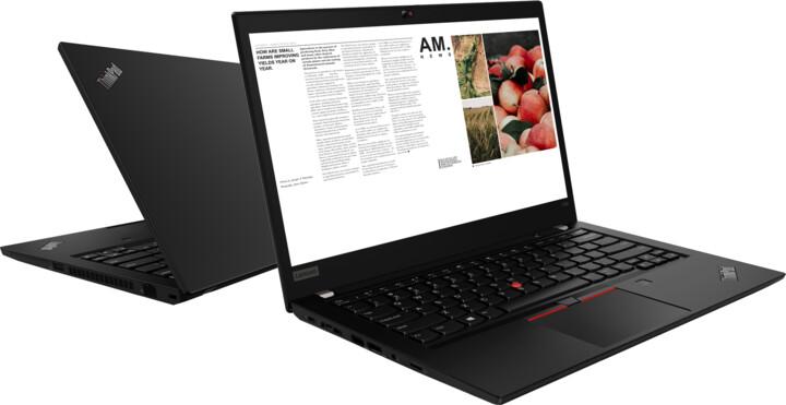 Lenovo ThinkPad T490, černá