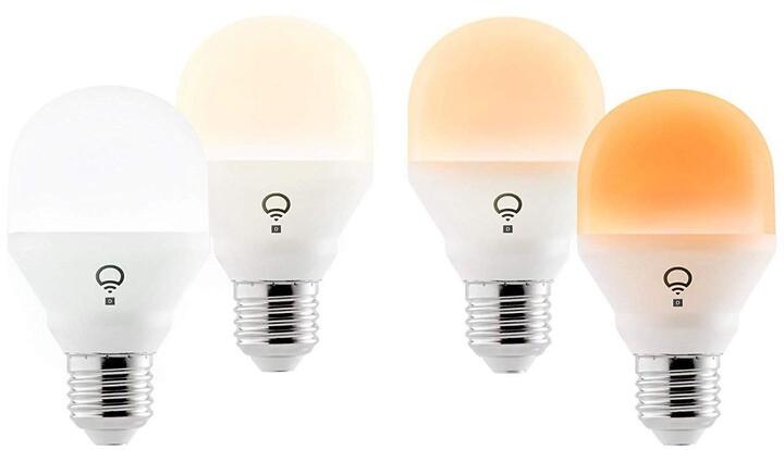 LIFX Mini Day & Dusk Wi-Fi Smart LED Light Bulb E27 - 4 Pack