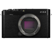 Fujifilm X-E4, tělo, černá - 16673811