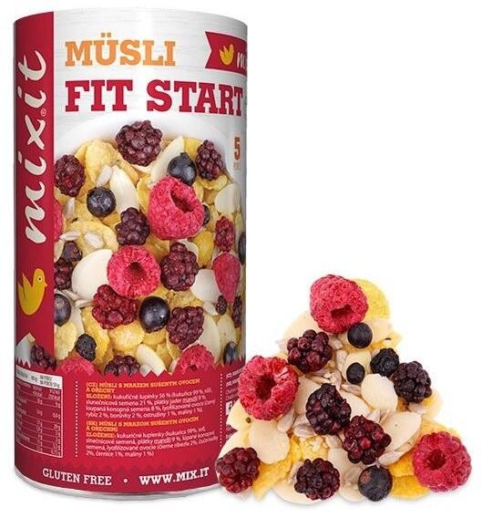 Mixit müsli Zdravě I: Zažívání a metabolismus - mix ořechy/ovoce, 270g