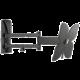 Meliconi 480851 Meliconi Slim Style 200SDR Nástěnný náklonný držák na TV, černá