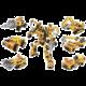 Hračka Qman Trans Collector: Enegineering Mecha (1417), sada 6v1