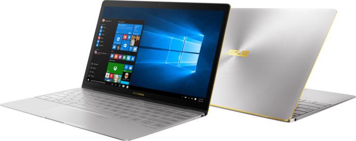 ASUS ZenBook 3 UX390UA, šedá
