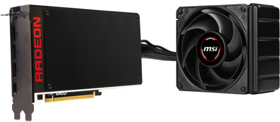 MSI R9 FURY X, 4GB