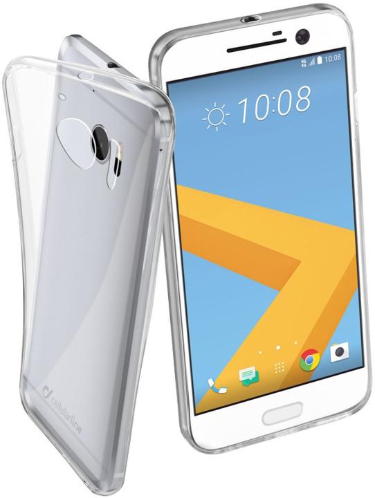 CellularLine Fine zadní kryt pro HTC One 10, extratenký, bezbarvý