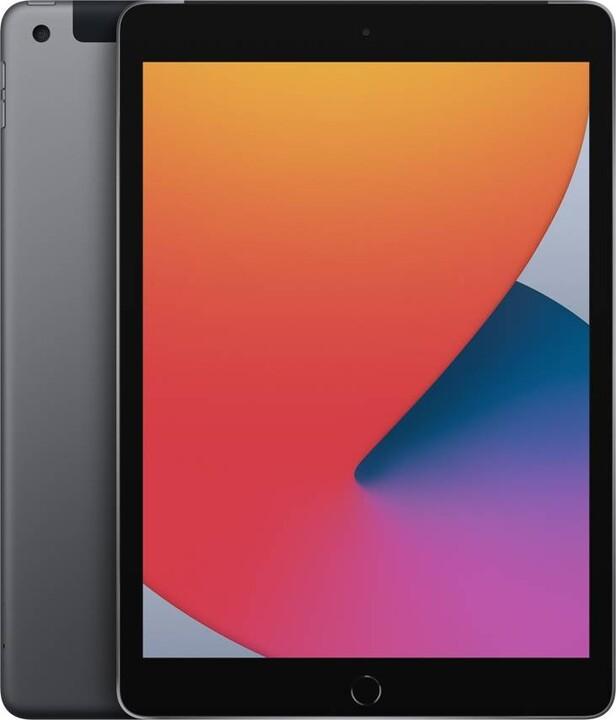 "Apple iPad 2020 (8. gen.), 10,2"", 128GB, Wi-Fi + Cellular, Space Gray"