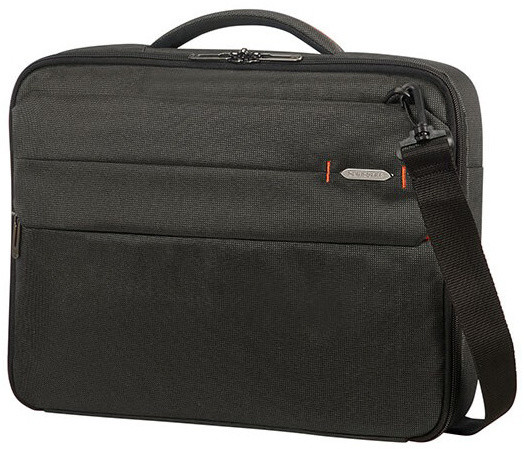 "Samsonite Network 3 OFFICE CASE 15.6"" Charcoal Black"