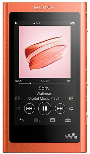 Sony NW-A55L - 16GB, červená