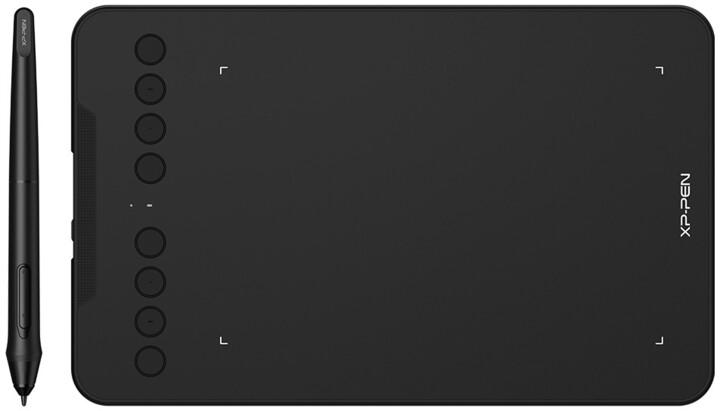 XP-PEN Deco mini7 W, černá