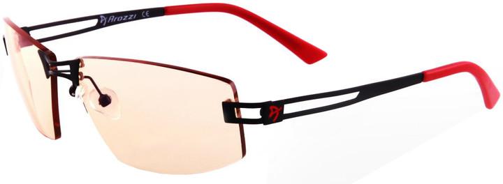 Arozzi Visione VX-600, černočervené