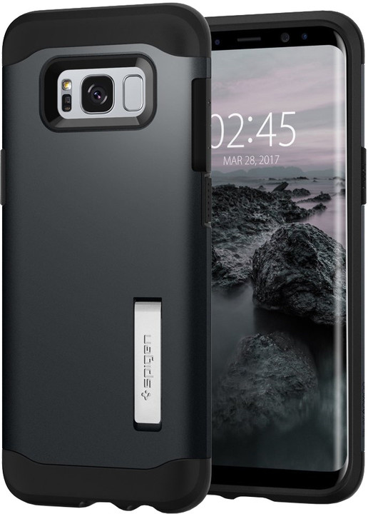 Spigen Slim Armor kryt pro Samsung Galaxy S8, slate metal