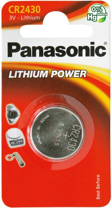Panasonic baterie CR-2430 1BP Li