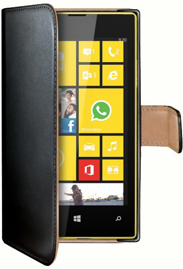 CELLY Wally pouzdro pro Nokia Lumia 530, černá
