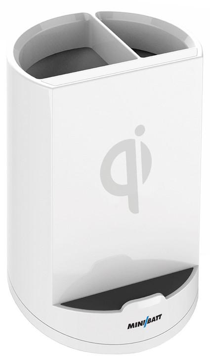 MiniBatt PowerCUP Qi bezdrátová nabíječka