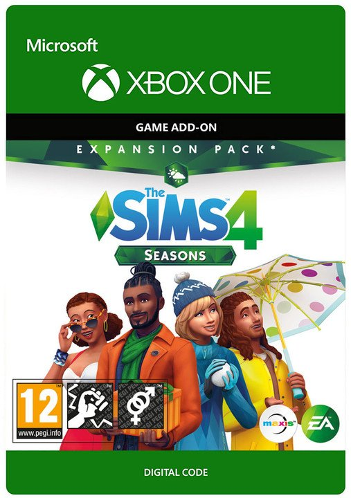 The Sims 4: Seasons (Xbox ONE) - elektronicky