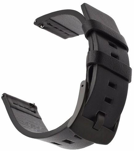 Tactical 307 kožený řemínek pro Huawei Watch GT, černá