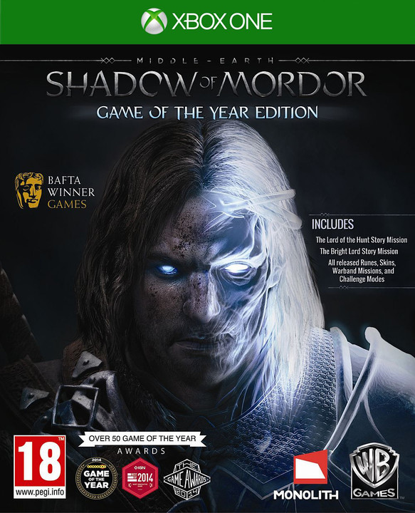 Middle-Earth: Shadow of Mordor Game of The Year Edition (Xbox ONE)