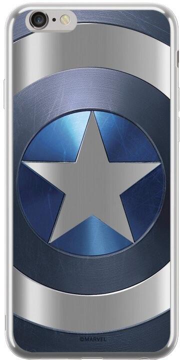 MARVEL Captain America 005 zadní kryt pro Huawei P Smart, stříbrná