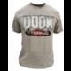 Tričko Doom: Eternal - Logo, světle šedé (L)
