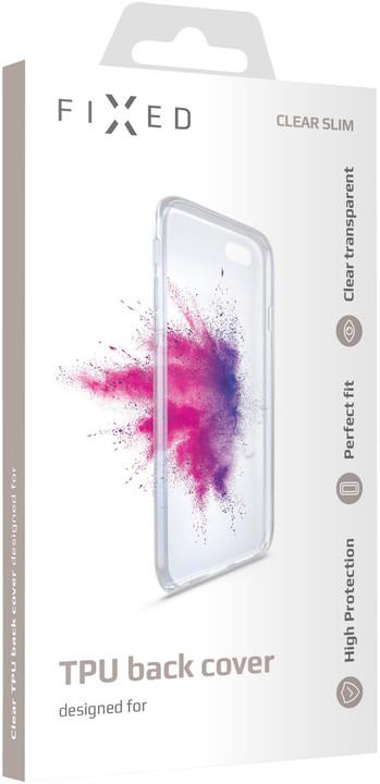 FIXED TPU gelové pouzdro pro Xiaomi Redmi 6A, čiré