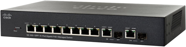 Cisco SG300-10PP