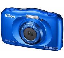 Nikon Coolpix W150, modrá + Backpack kit - VQA111K001