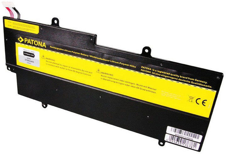 Patona baterie pro ntb TOSHIBA Z830 3100mAh Li-pol 14,8V